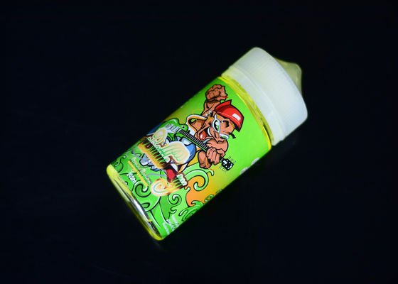 Orange Lemon Flavors 200ml E Liquid 3MG Nicotine 2 Years Warranty