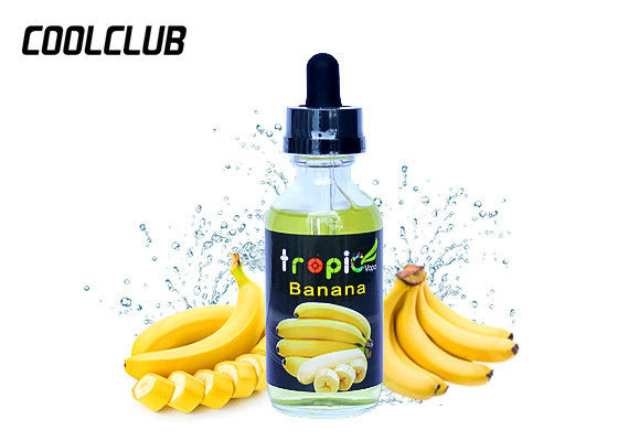 High Authentic Vapour E Liquid Banana Reduction E Juice 99.9% Nic Pure Taste