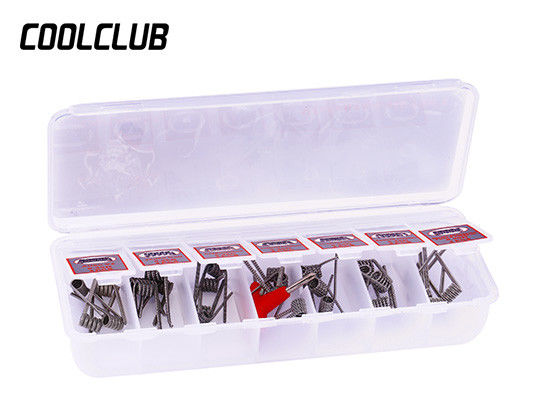 72g Violence Coil 7 In 1 Framed Clapton Coil In Plastic Case Silver Color supplier