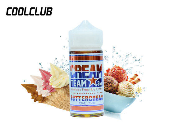 USA Brand Vapor Cigarette Liquid Cream Team 100ml 3mg Cinnaroll Buttercream Neapolitan