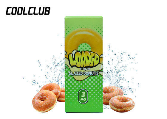 120ml 3mg Smoke E Liquid , Loaded Cookie Butter Strawberry Jelly Donut Cran - Apple Juice supplier