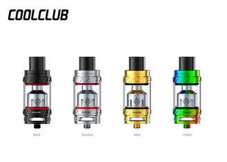 6.0ml Smok TFV12 Atomizer Stainless Steel + Pyrex Glass , Smok 27mm TFV12 Cloud Beast King