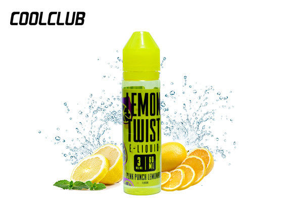 Lemon Twist 60ml 3mg Peach Blossom Lemonade Golden Coast Lemon Bar supplier