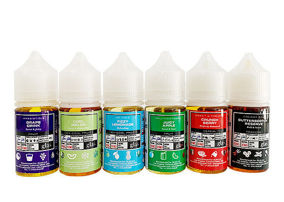 USA Vape E - Cigarette Glas Pod Salt E Cig Liquid 30ml Fruit Flavors