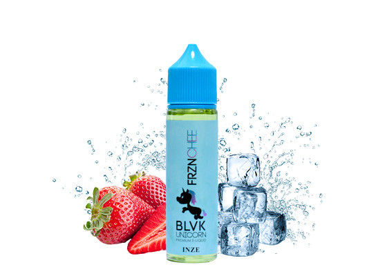 BLVK  Electronic Cigarette Liquid 3mg Fruit And Ice Milk Flavor Liquid E Juice supplier