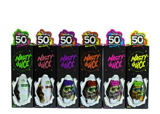 30% PG E Juice Liquid Nasty 50ml Super smog Wicked Haze  Green Ape