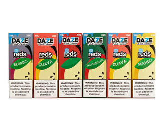 Electronic Cigarette E Juice DAZE Nicotine salt Ice Fruit flavors Taste