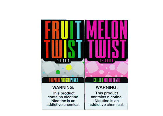 Glass Bottle Custom E Juice Mixed Fruit Flavors ODM OEM Services supplier