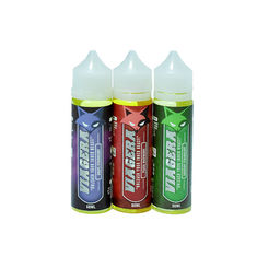 30% PG E Vaping Juice / E Smoke Liquid With Glass Dripper Bottle
