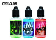 Plastic Bottle E Cigarette Liquid Maylasia Hands Of Midas 30ml OEM ODM