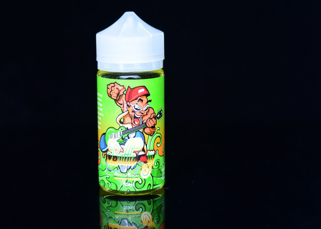 MSDS / FDA 200ml E Liquid Fresh / Vapor Cigarette Liquid Orange Lemon Flavour supplier