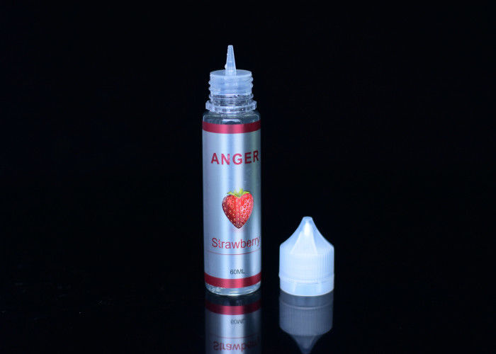 Single Smooth Taste Electronic Cigarette Juice Strawberry 70/30 E Juice With 99.9% Nic