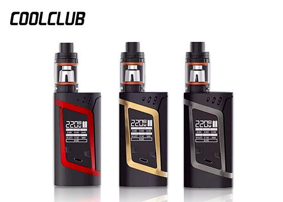 SS Smok Alien 220W Kit With 3ml TFV8 Baby Tank Vape Mod Size 85mm X 44mm X 30mm