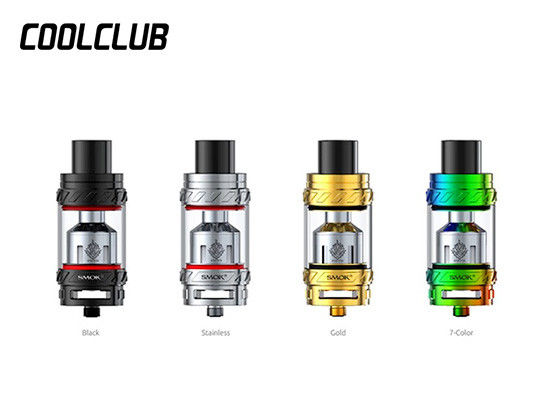 6.0ml Smok TFV12 Atomizer Stainless Steel + Pyrex Glass , Smok 27mm TFV12 Cloud Beast King supplier