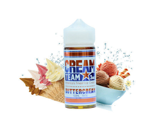 USA Vapor Cigarette Liquid Cream Team 100ml 3mg Cinnaroll Buttercream Neapolitan