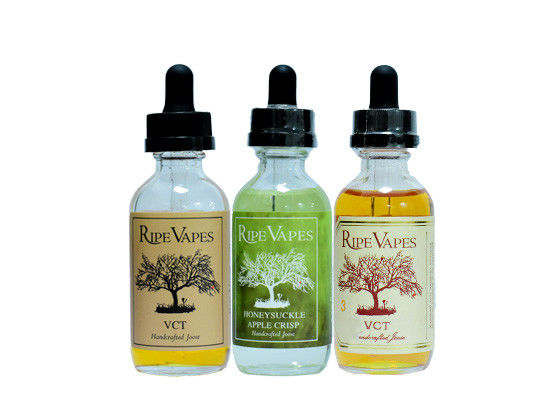 VCT3 Flavors E Cigarette Liquid RIPE VAPES Mixed Taste / Electronic Cigarette E Juice