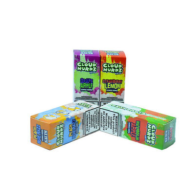 TPD Vapor Cigarette Liquid Cloud Nurdz Super Concentrated Flavour