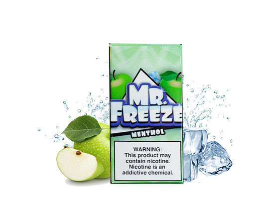 Authentic E Juice MR FREEZE 12 Flavor 3mg Pure Taste E Liquid